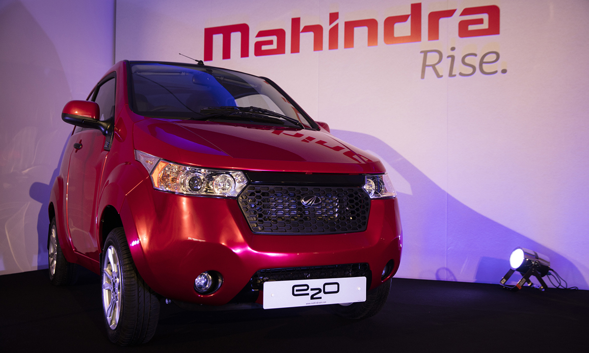 Ford Mahindra Open To Teaming Up On Electric Cars In India