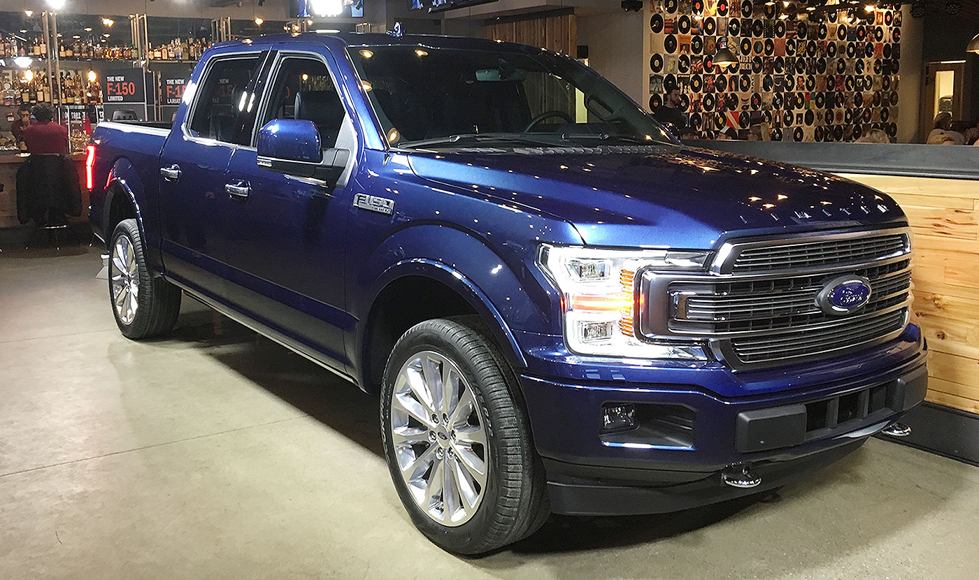 Ford adds diesel new v 6 to enhance f 150 mpg for 18