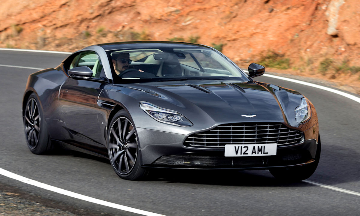 Aston Martin Touts Db11 S Good Looks Powerful New Engine And