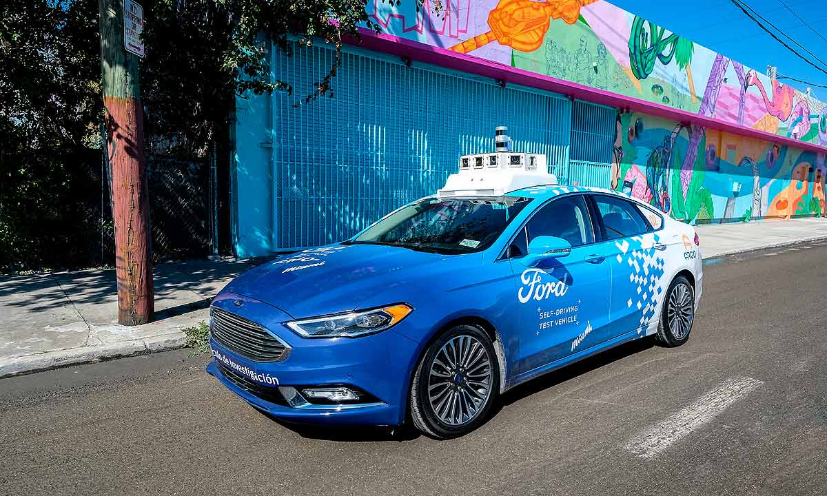 Ford intends to use purpose built autonomous vehicles to carry both passengers and consumer goods
