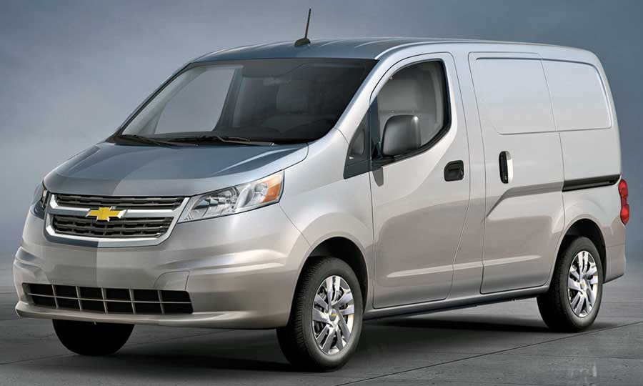 Chevy Will Get A Version Of Small Nissan Cargo Van