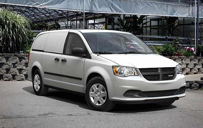 Chrysler Rebrands Dodge Grand Caravan Cargo Van As Ram Cargo Van