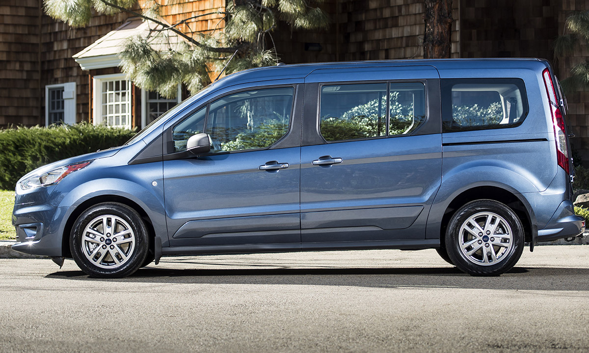 Fords 2019 transit connect wagon gets 29 mpg on highway