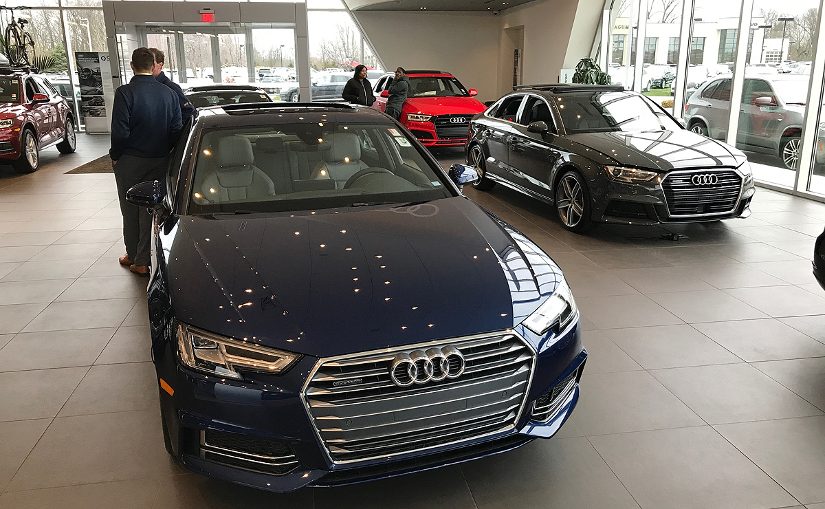 Vw Audi Sales Rise On Crossovers Audi A5
