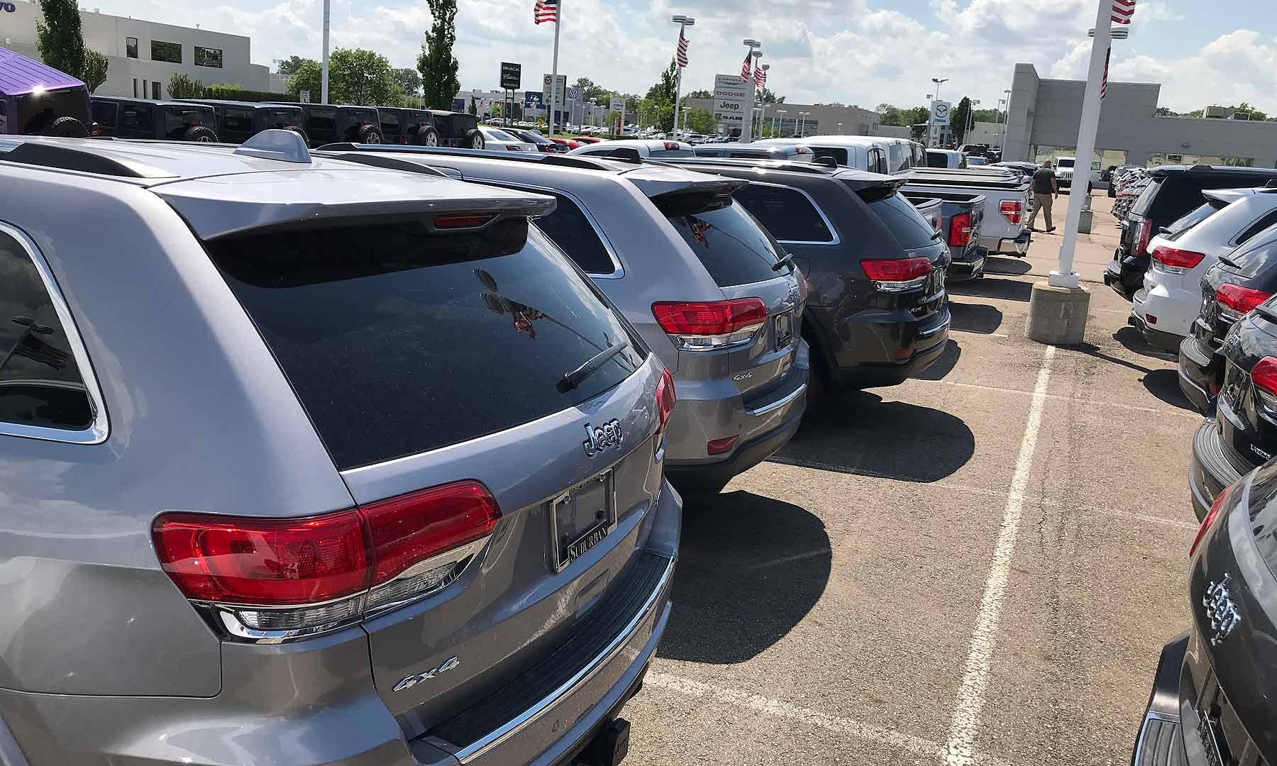 May U S Auto Sales Fca Ford Honda Vw Volumes Rise Behind Trucks