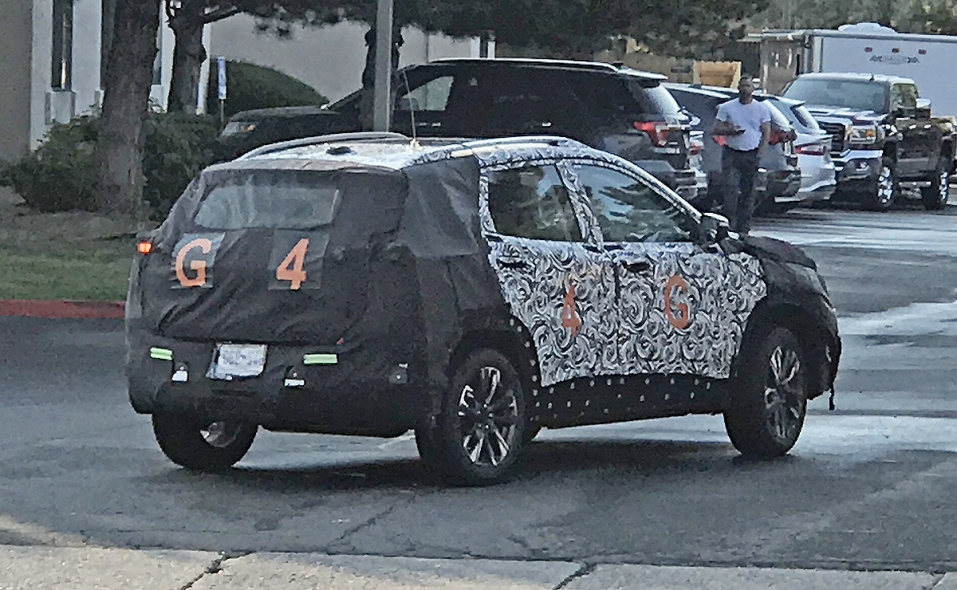Gmc S Small Crossover Spied