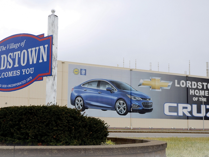 Mazda Dealers In Ohio >> GM plant in Lordstown, Ohio, after thriving during recession, suffers reversal of fortune